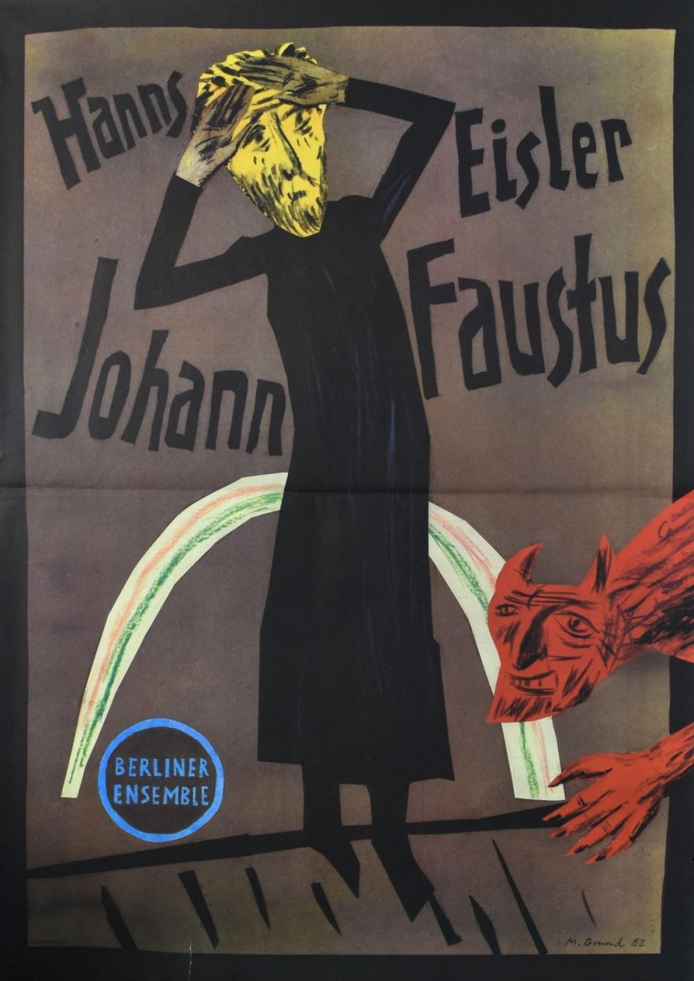 Hanns Eislen Johann Faustus