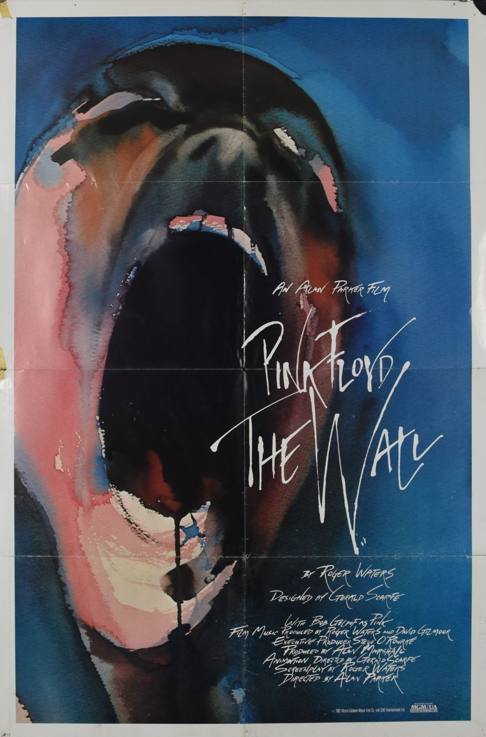 Pink Floyd: The Wall original movie poster