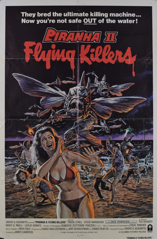 Piranha II: Flying Killers original movie poster