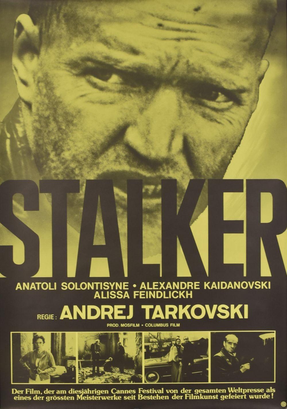 Stalker original movie poster
