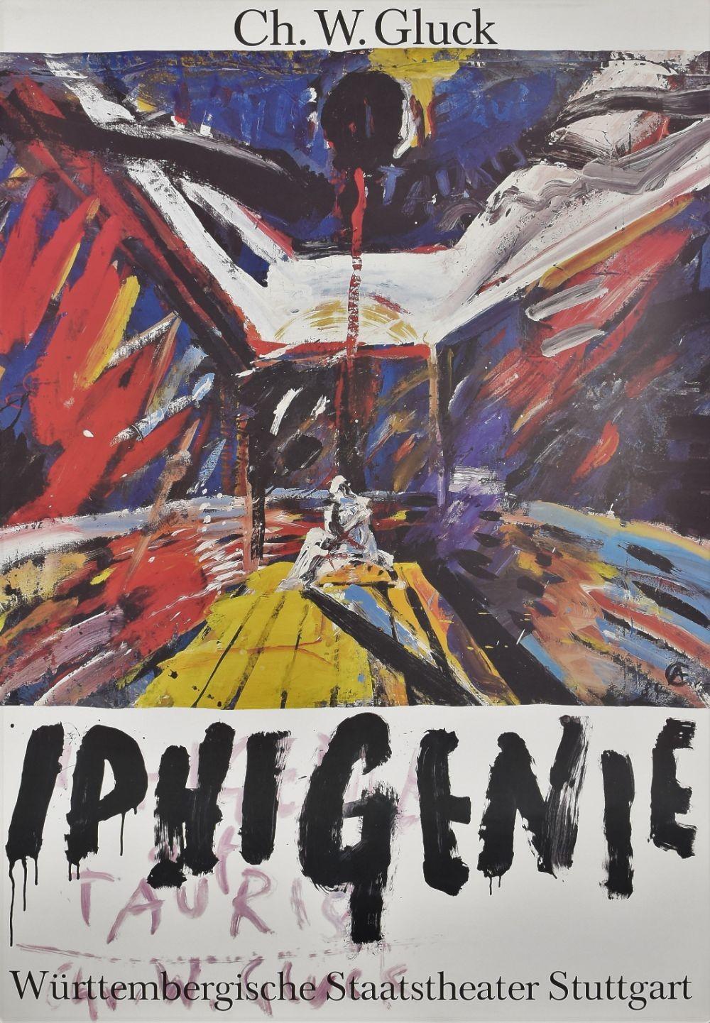 Opera Iphigenie Auf Tauris original movie poster