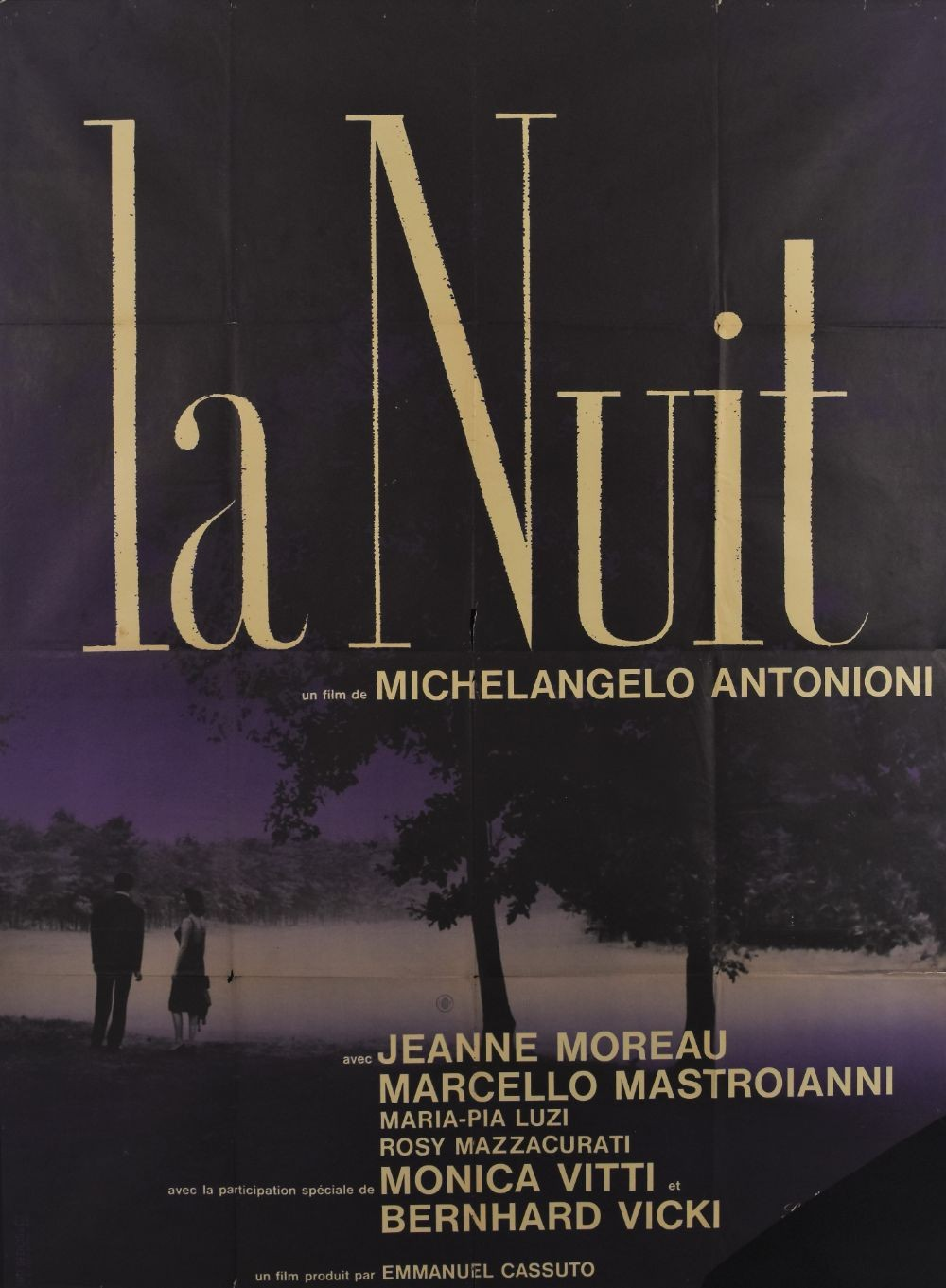 La notte original movie poster