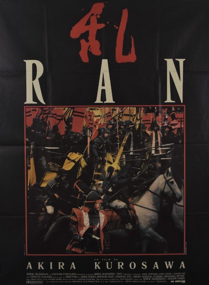 Ran original movie poster