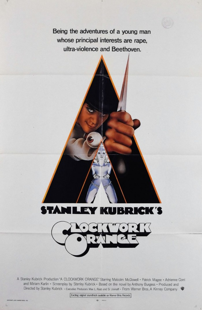 A Clockwork Orange original movie poster
