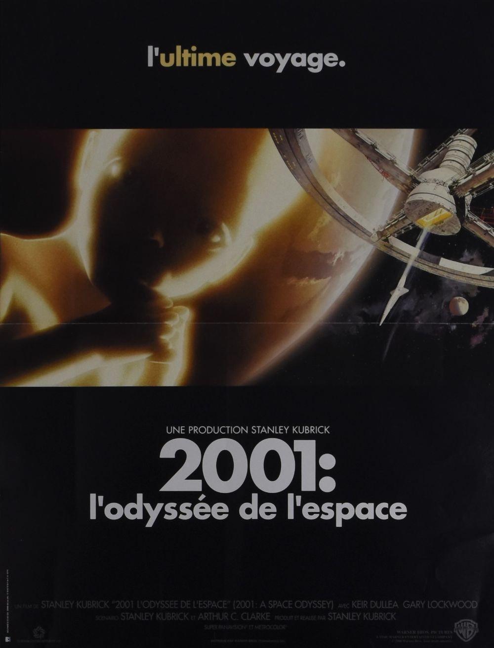 2001: A Space Odyssey original movie poster