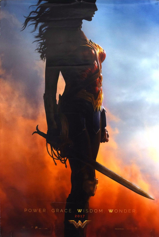 Wonder Woman original movie poster