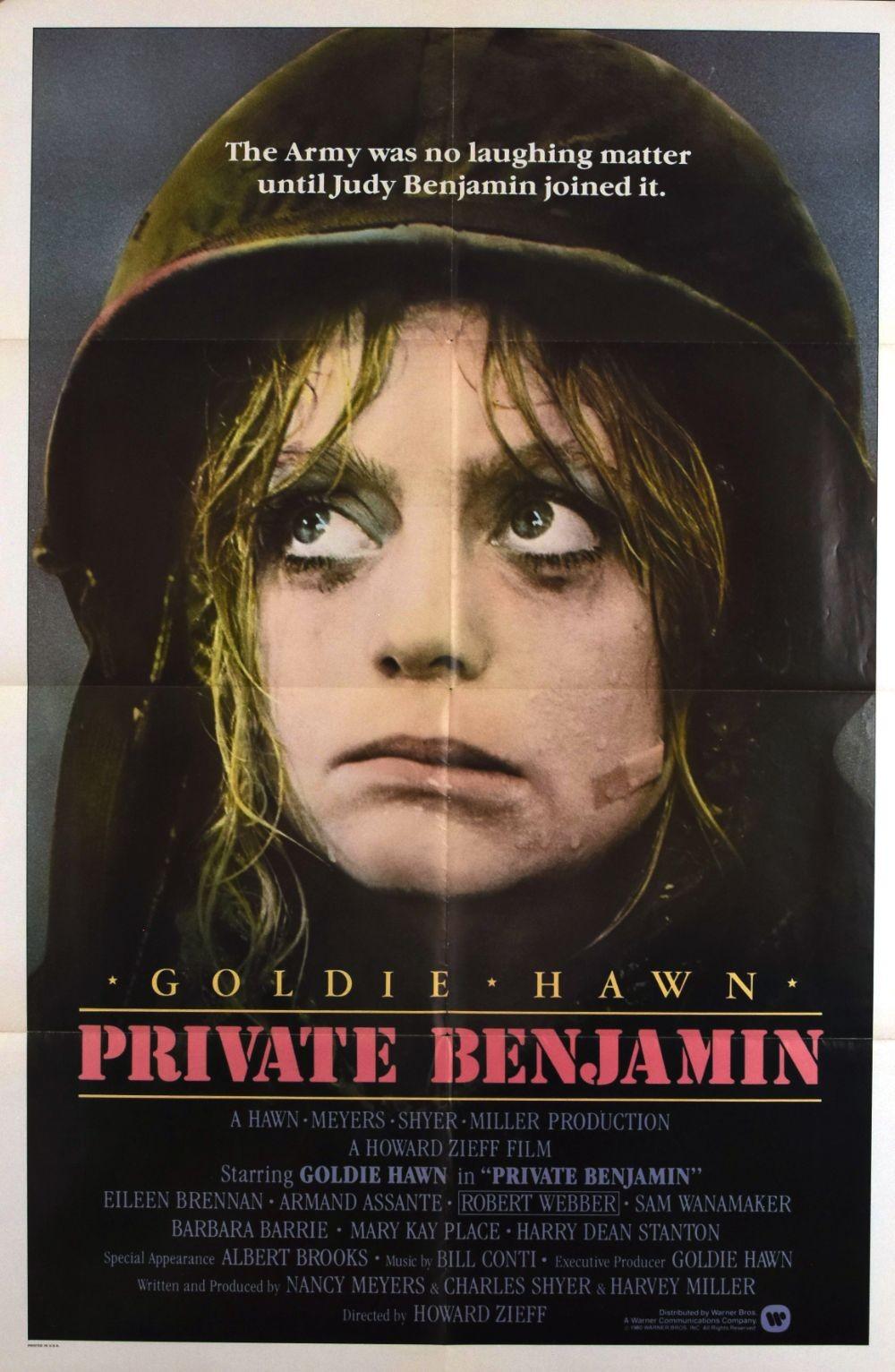 Private Benjamin original movie poster