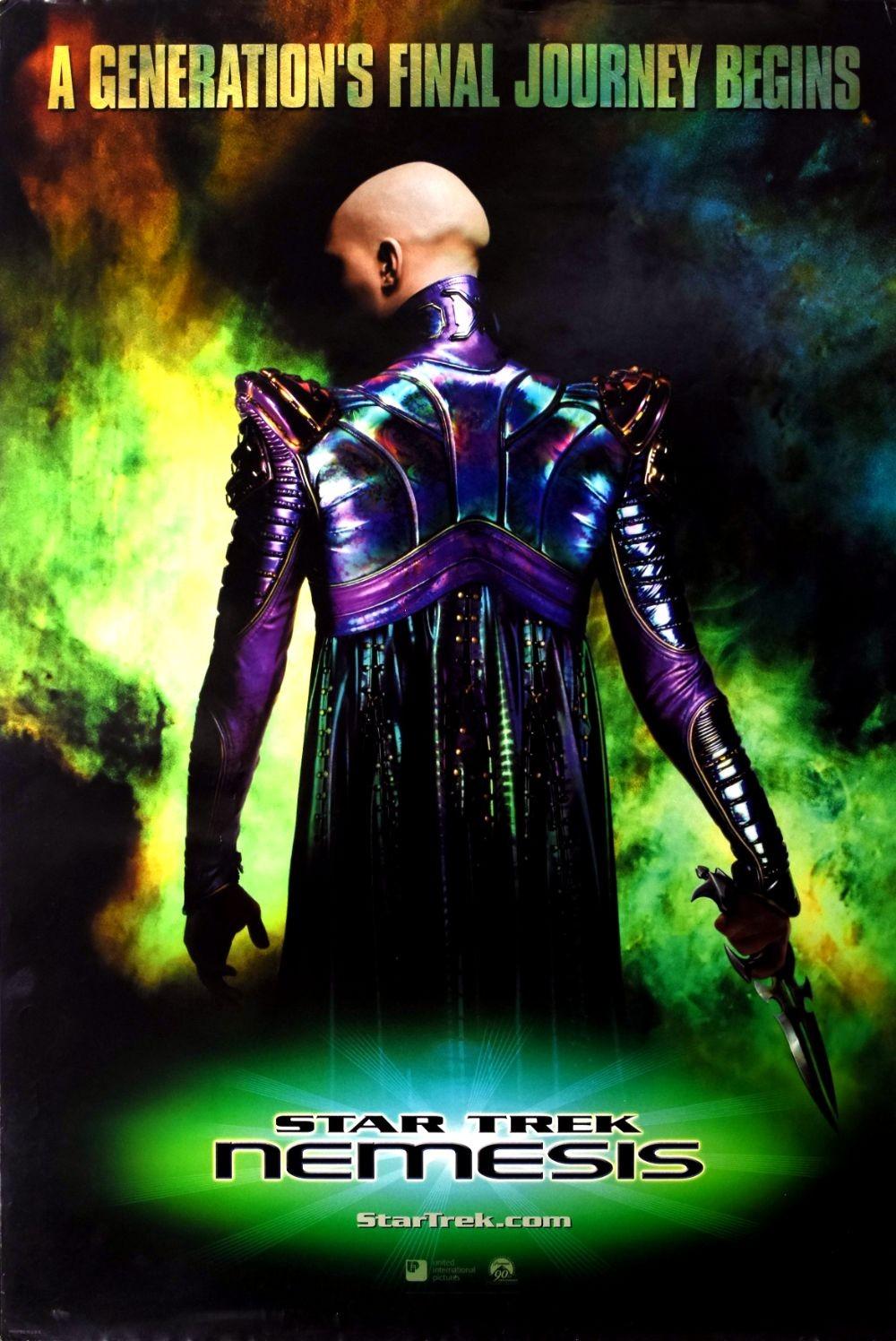 Star Trek: Nemesis original movie poster