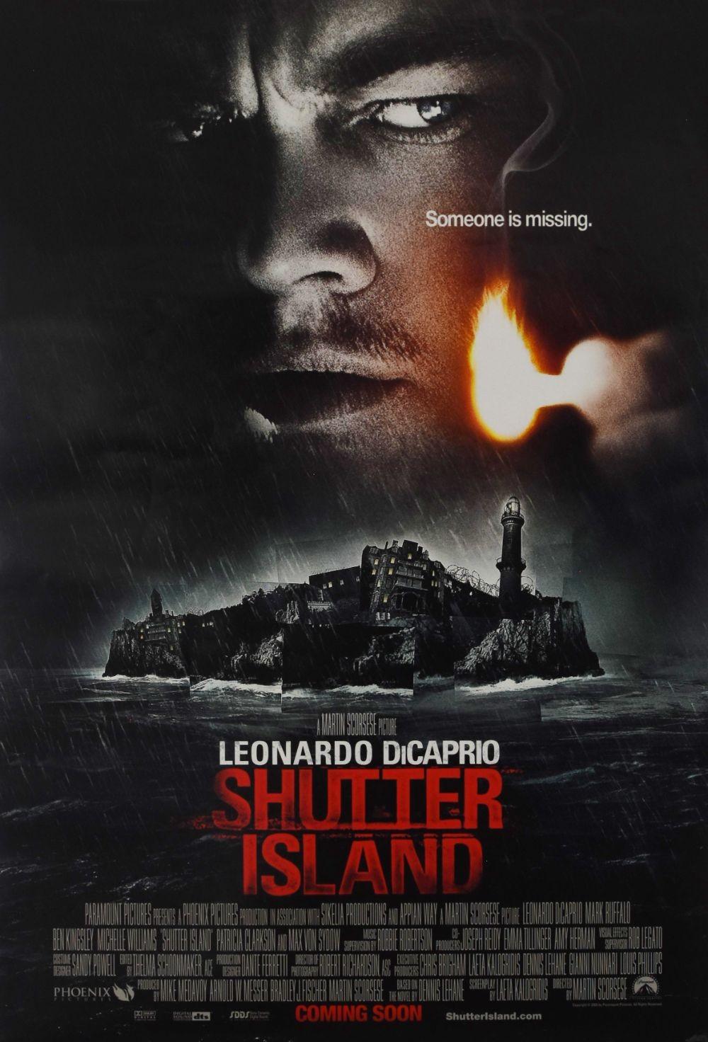Shutter Island original movie poster
